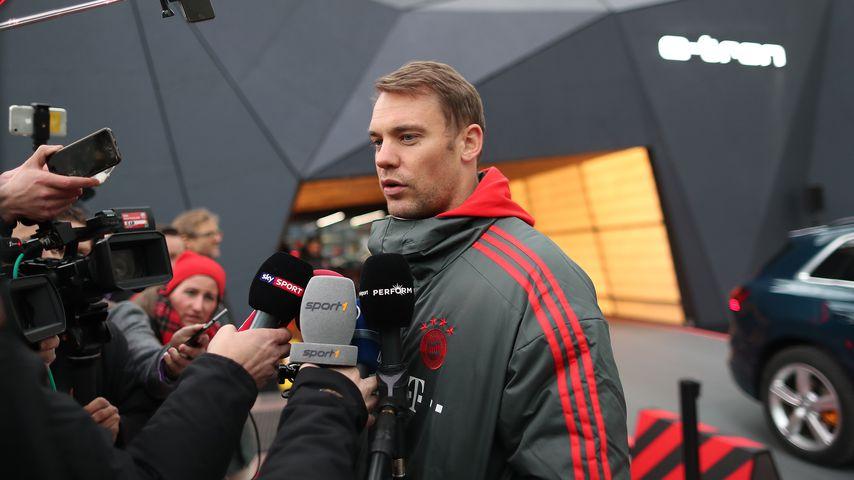 Manuel Neuer im Januar 2019