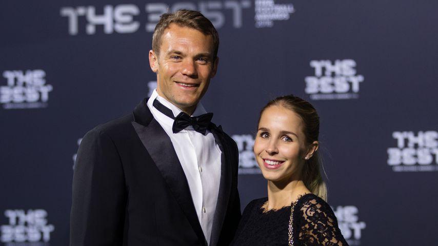 Manuel Neuer und Nina Weiss bei den The Best FIFA Football Awards 2016
