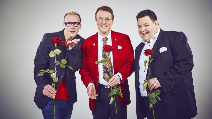 """Manuel, Walther und Alexander, """"Traumfrau gesucht""""-Kandidaten 2017"""