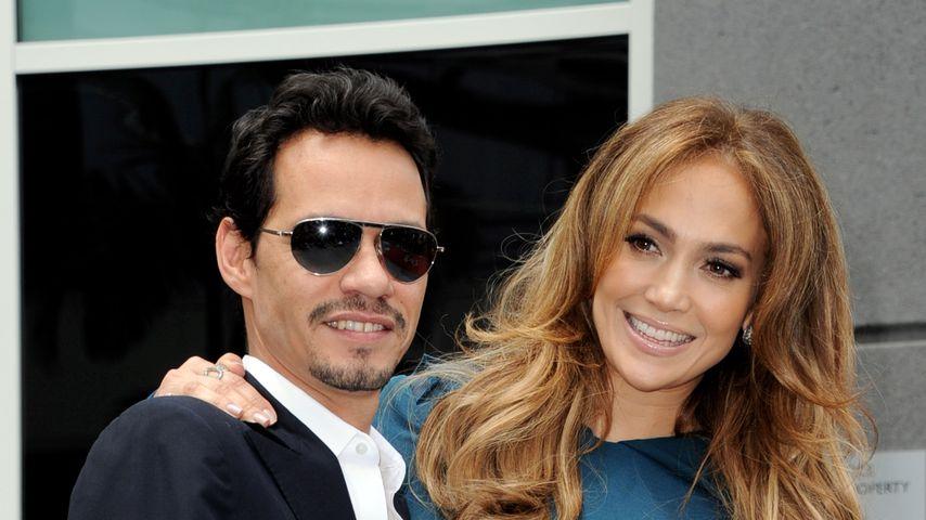 Marc Anthony und Jennifer Lopez im Mai 2011 in Los Angeles