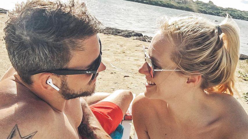 Marc Barthel und Anna Hofbauer im Urlaub