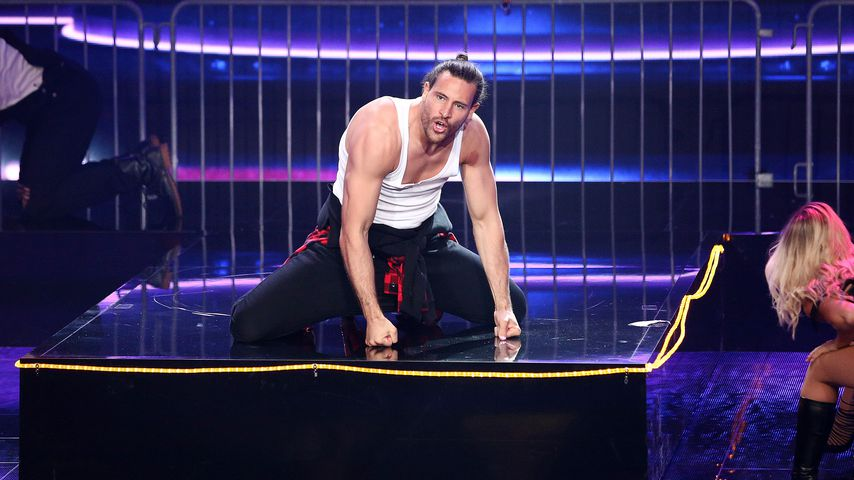 "Marc Eggers bei der 1. Folge von ""Dance Dance Dance"""
