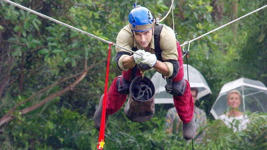 Marc Terenzi in der Dschungelprüfung an Tag 9