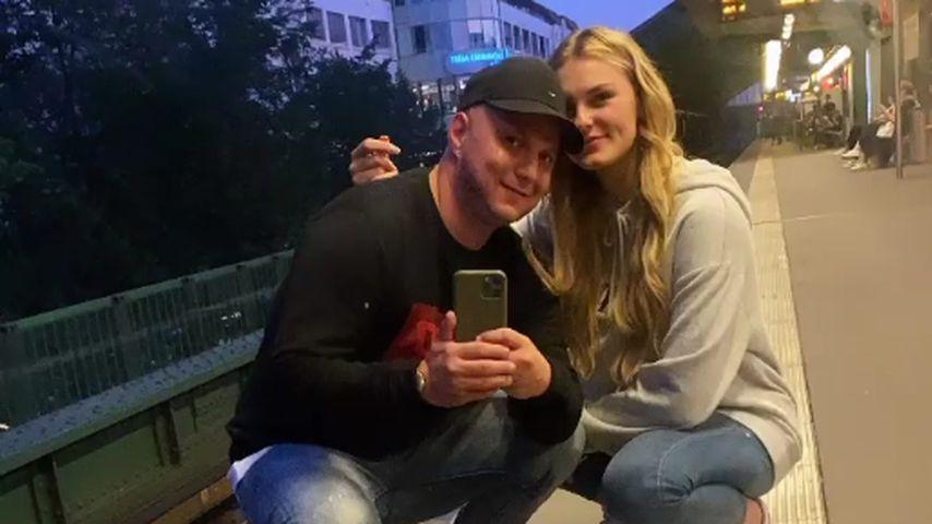 Marcel Maurice Neue und Laura Hink im September 2021