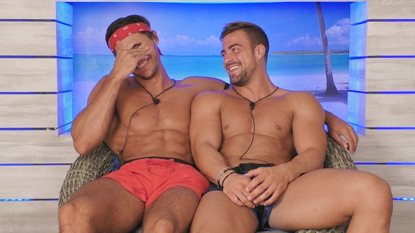 """Marcellino und Tobias, """"Love Island""""-Kandidaten an Tag acht"""