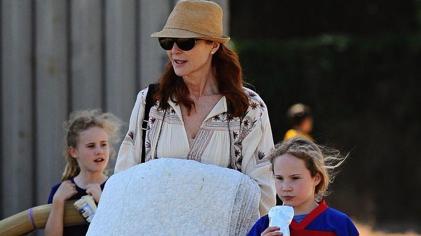 Marcia Cross mit ihren Zwillingstöchtern Savannah und Eden