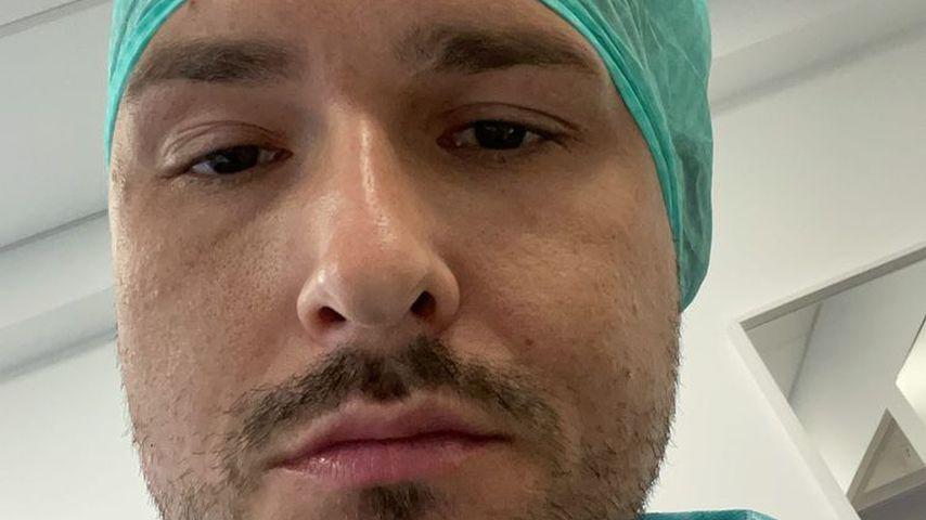 Marco Cerullo bei seiner Haartransplantation
