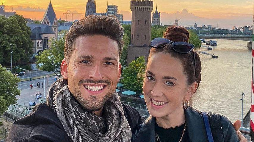 Marco Cerullo und Christina Grass, Juni 2020