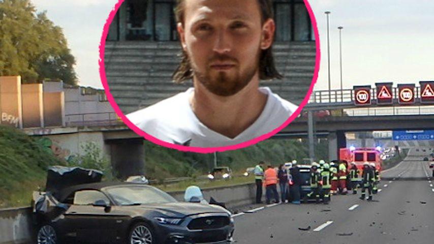 Heftig! Polizei zeigt Ausmaß des schlimmen Höger-Unfalls!