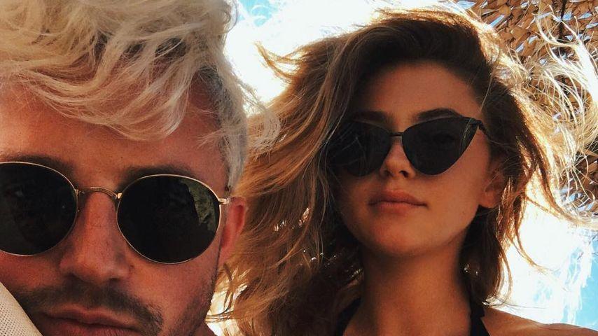 Marcus Butler und Stefanie Giesinger im Urlaub auf Mykonos