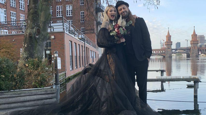 """Traum in Tüll: GNTM-Mareike und Philipp haben """"Ja"""" gesagt!"""