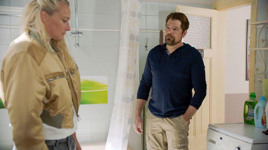 Maren (Eva Mona Rodekirchen) und Leon (Daniel Fehlow) bei GZSZ