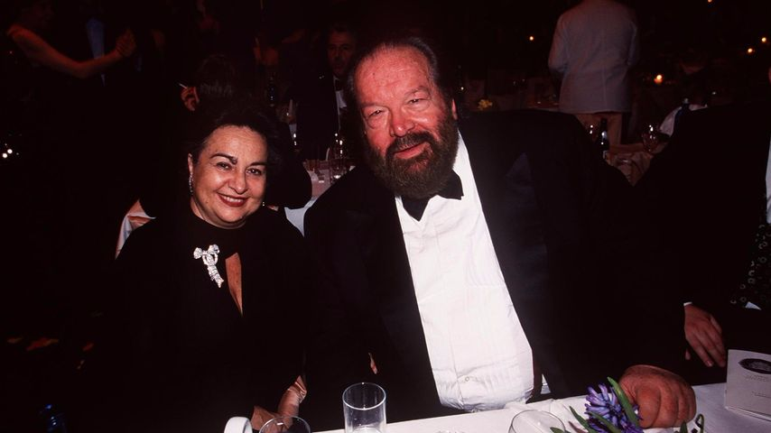 Maria Amato und Bud Spencer