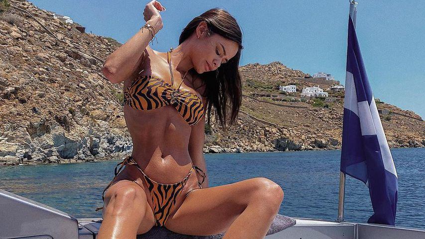 Maria Del Mar Molar auf Mykonos, Juni 2021