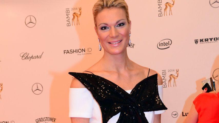 Maria Höfl-Riesch: Outfit-Patzer beim Bambi 2014?