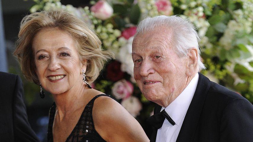 Maria Zorreguieta und Jorge Zorreguieta auf Maximas 40. Geburtstag