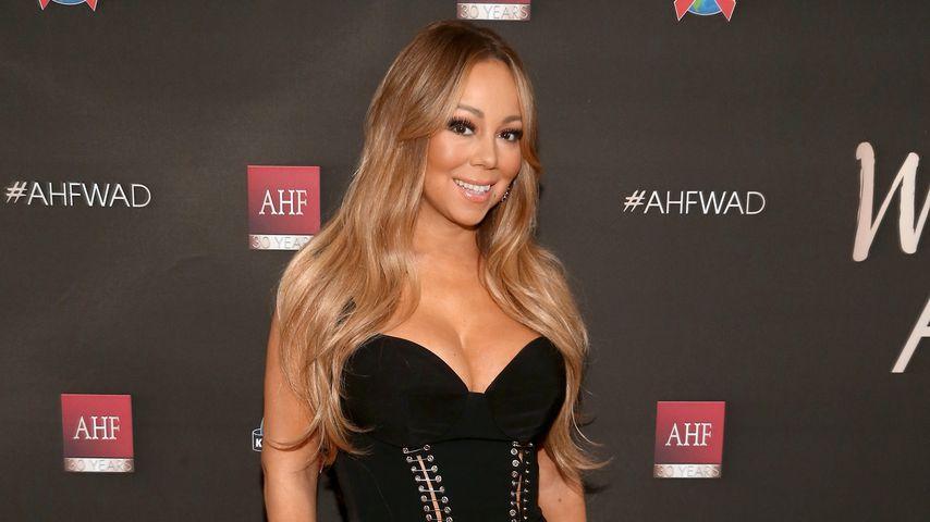 """Hautenges Xmas-Outfit: Mariah Carey lässt """"Glocken"""" klingen"""