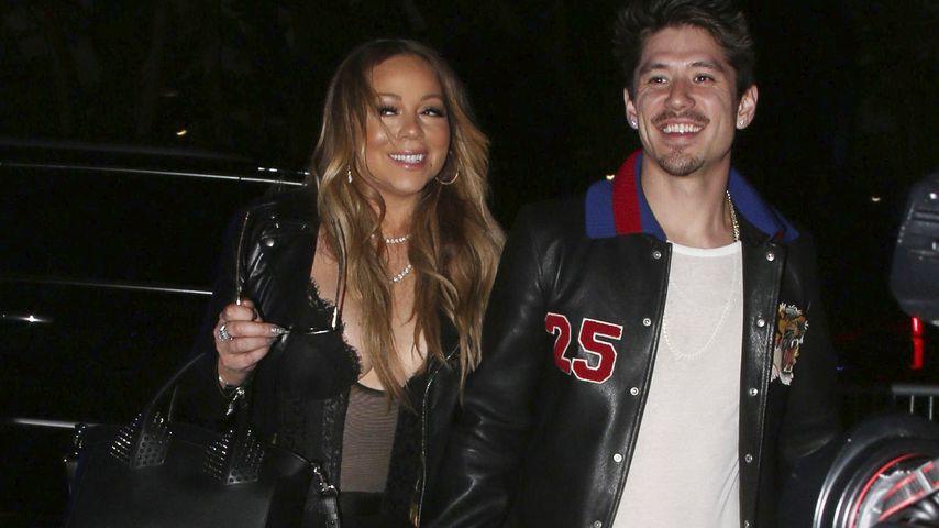 Ui, ui, ui! Mariah Careys Nippel beeindruckt neuen Freund