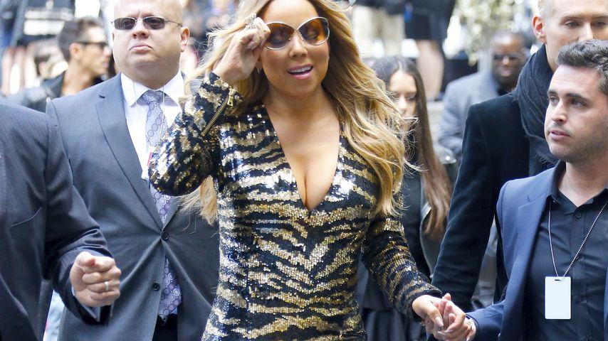 Pöbel-Attacke! Mariah Carey greift einen Paparazzo an