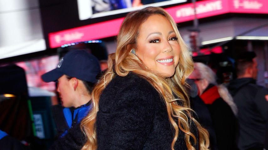 Mariah Carey an Neujahr 2016 in New York