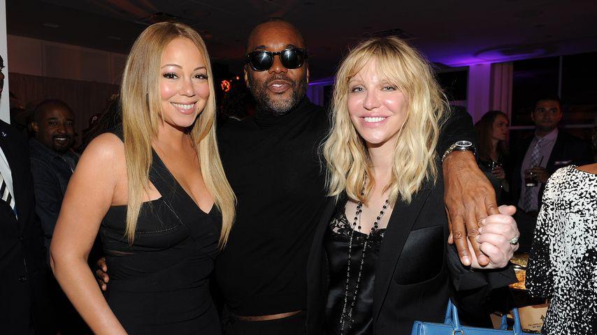 Mariah Carey, Lee Daniels und Courtney Love