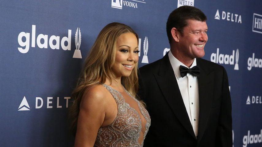 Mariah Carey & James Packer: Verliebt auf dem Red Carpet