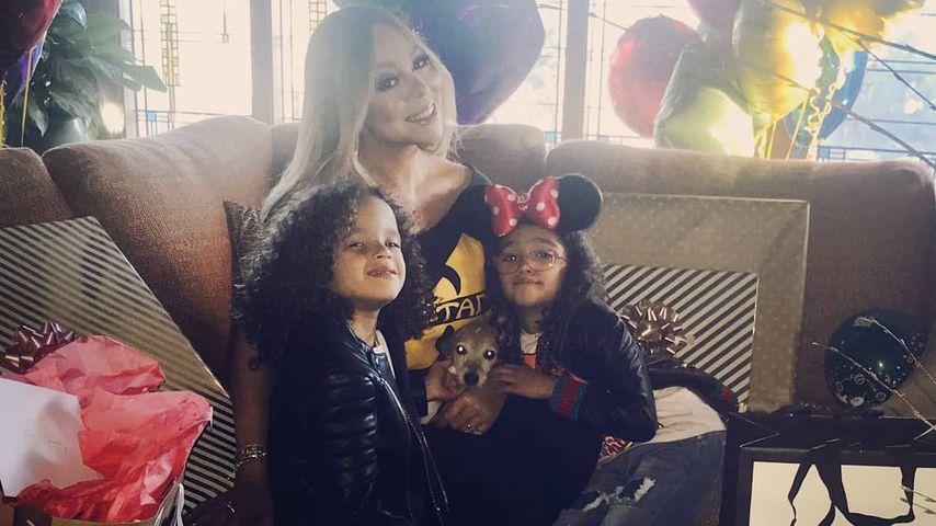 Mariah Carey: Süßer Birthday-Bash mit Kids im Disneyland!