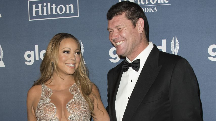Mariah Carey und James Packer bei den GLAAD Media Awards