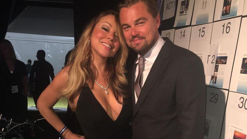 Maria Carey und Leonardo DiCaprio in St. Tropez