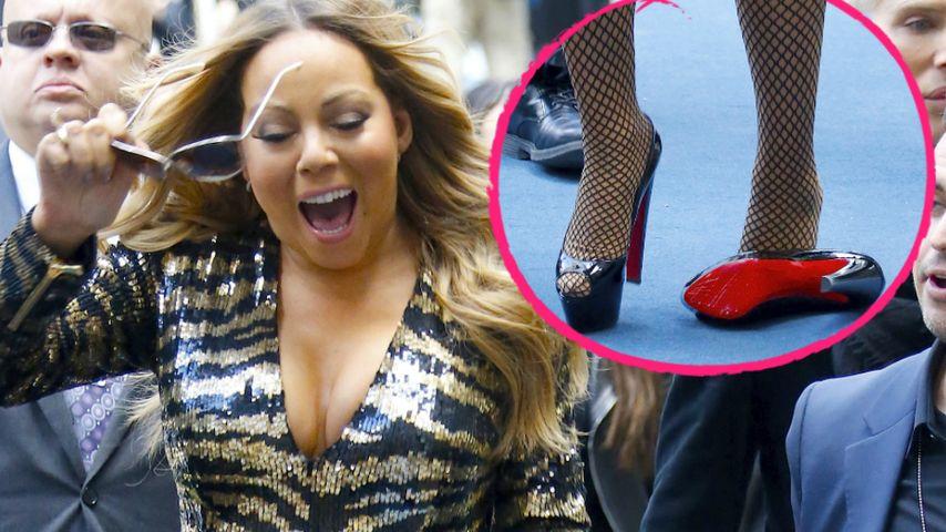 Red-Carpet-Fail! Mariah Carey verliert ihren High Heel