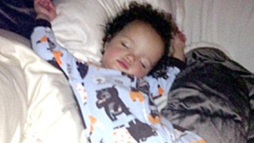 So süß schläft Mariah Careys Söhnchen Moroccan