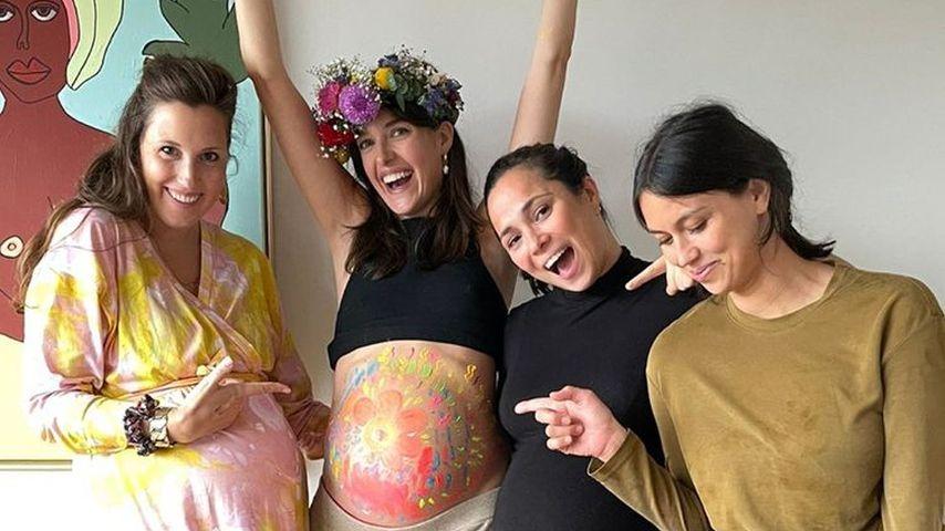 Massage und Co.: Marie Nasemann mit Babyshower überrascht
