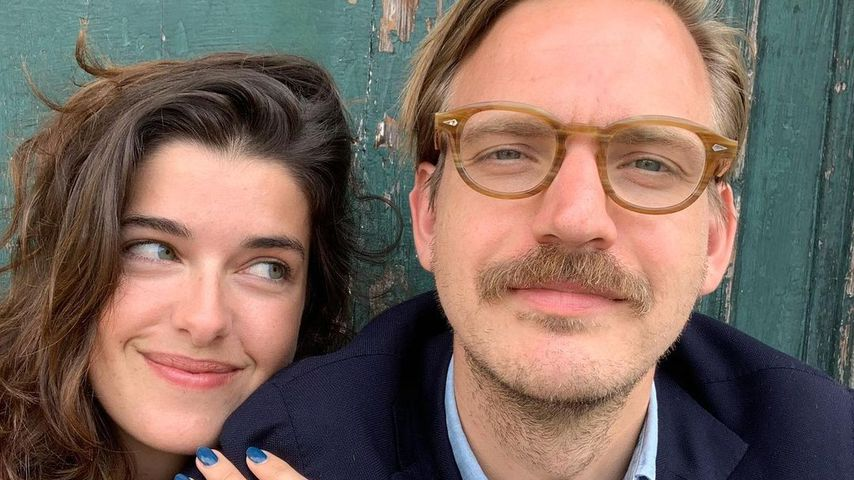 Marie Nasemann und ihr Mann Sebastian Tigges, 2021
