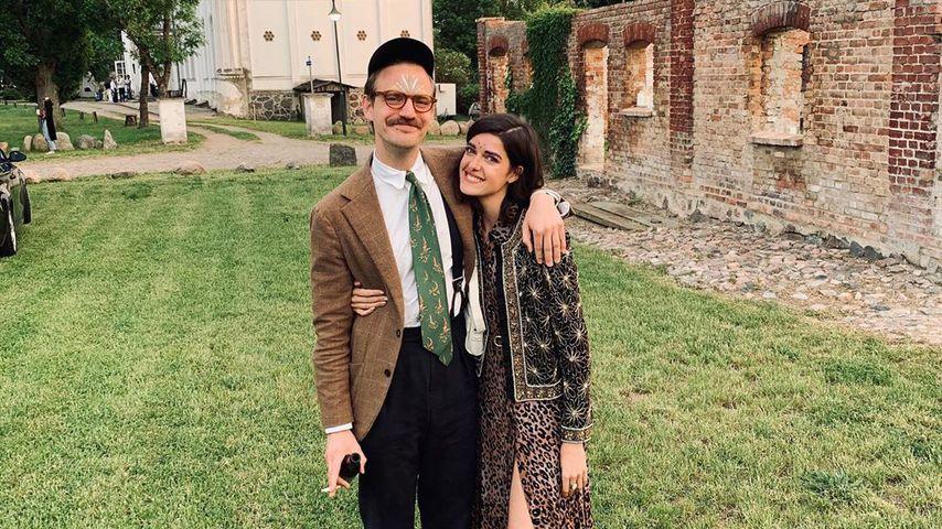 Marie Nasemann und ihr Partner Sebastian