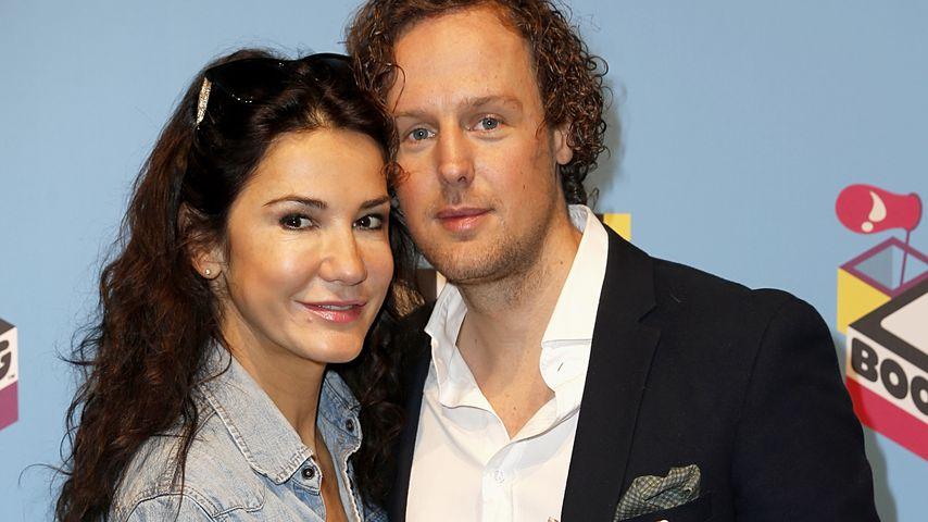 Mariella Ahrens und ihr Ex-Freund Sebastian Esser im April 2016