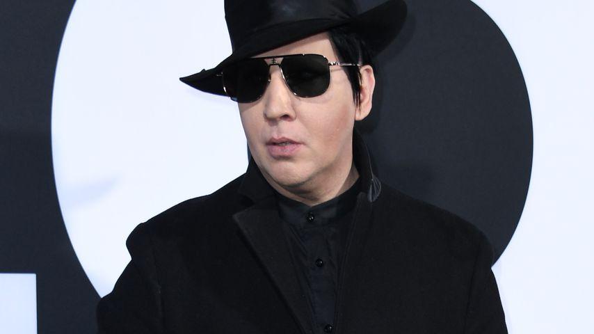 """Marilyn Manson bei der """"Halloween""""-Premiere in L.A. im Oktober 2018"""