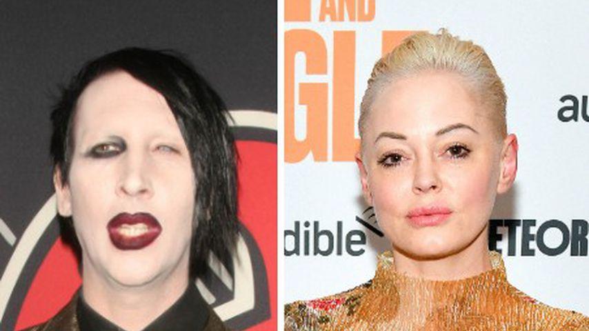 Gewaltvorwürfe gegen Marilyn Manson: Das denkt seine Ex Rose
