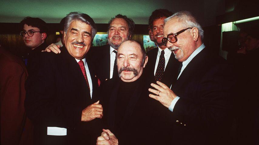 Mario Adorf, Will Quadflieg, Heinz Schubert, Dieter Wedel und Hans Korte (v.l.n.r.)