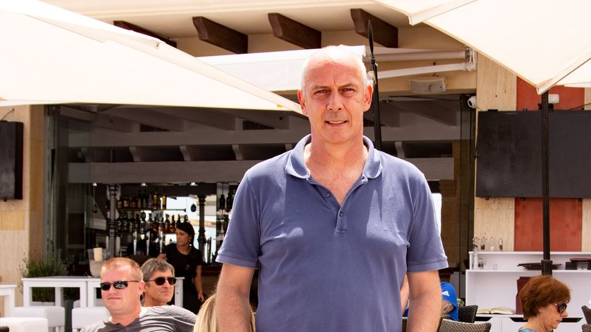 Mario Basler beim Softopening seines Restaurants MB30