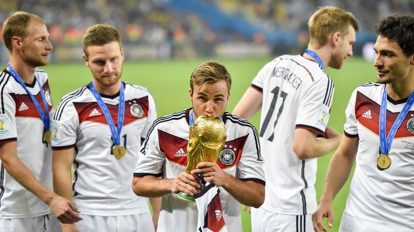 Mario Götze nach dem WM-Finale 2014