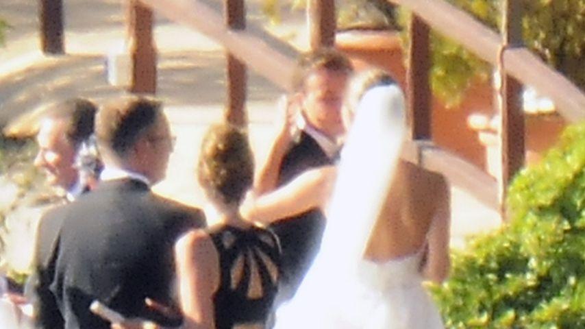 Mario Götze und seine Ann-Kathrin bei ihrer Hochzeit