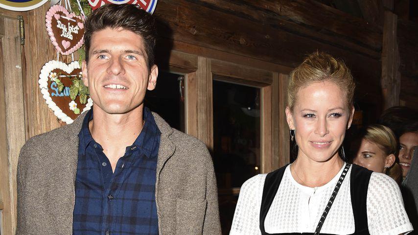Mario Gomez und seine Frau Carina