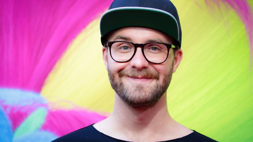 "Mark Forster beim Photocall für den Film ""Trolls"" in Berlin"