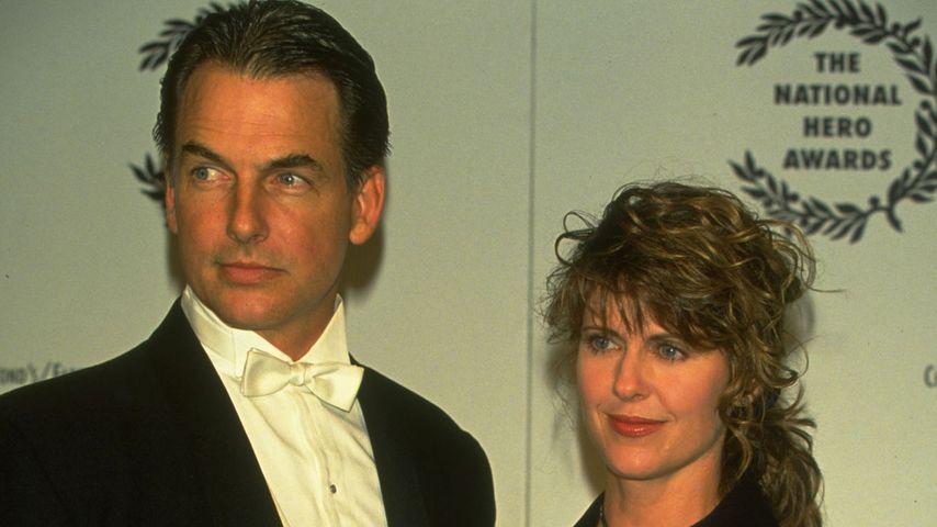 Mark Harmon und Pam Dawber im März 1999