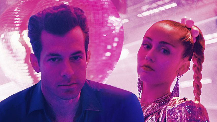 "Mark Ronson und Miley Cyrus im Musikvideo zu ""Nothing Breaks Like A Heart"""