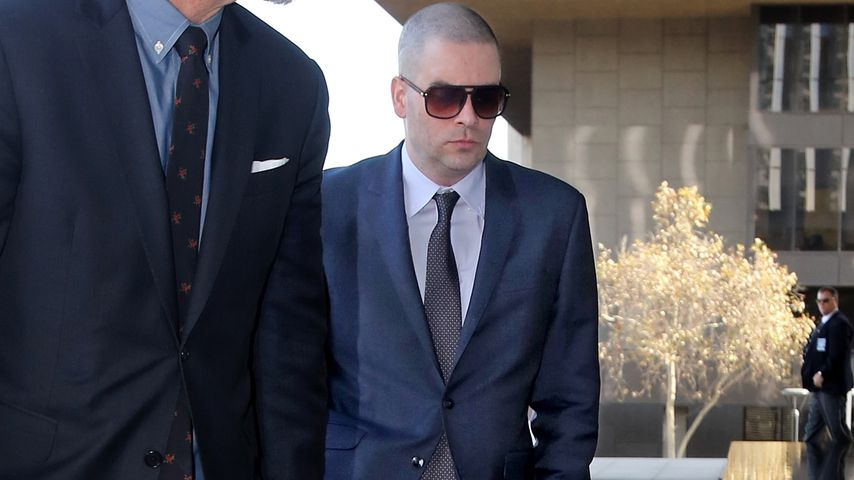 Mark Salling auf dem Weg zum Gericht in Los Angeles