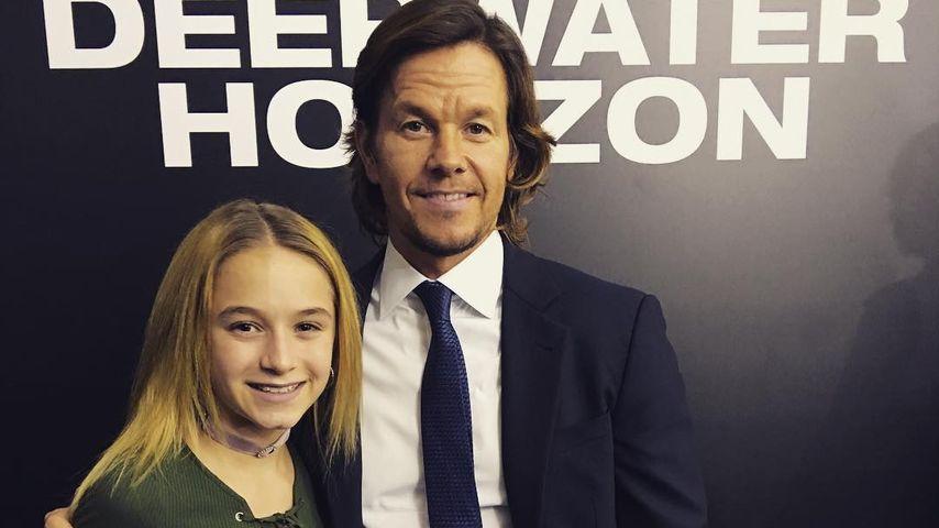 Peinlich, Papa! Mark Wahlberg blamiert Tochter Ella mit Rap