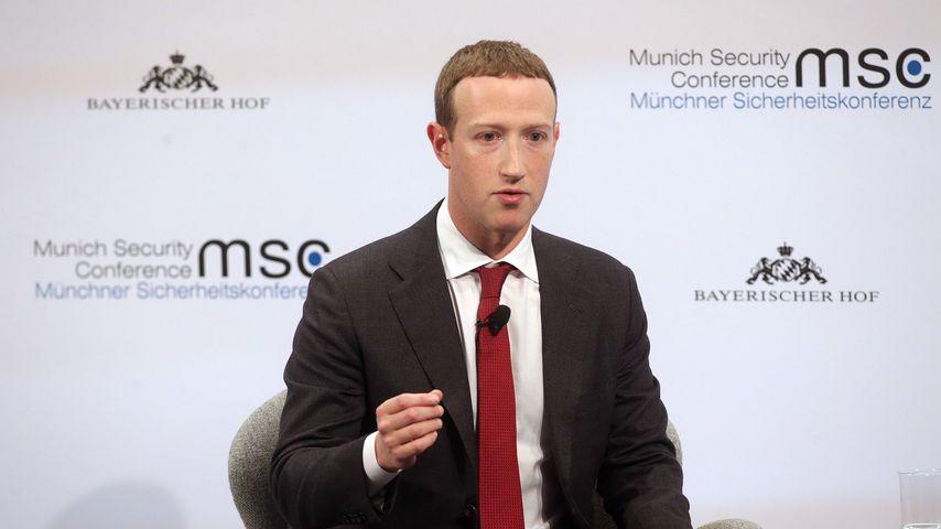 Mark Zuckerberg im Februar 2020