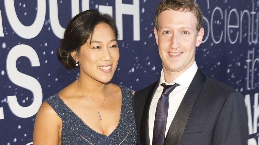 Mark Zuckerberg und Priscilla Chan