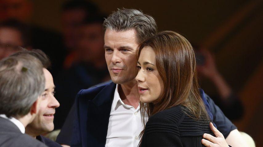 Markus Lanz und Angela Gessmann
